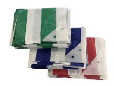 Yuzet Heavy Duty Waterproof Market Stall Tarpaulin Cover Builders Tarp Sheet