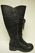 Women's Forever Link Andrea-16 Black Mid Length Boots Multiple Sizes Brand New