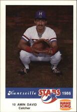1986 Huntsville Stars Jennings Baseball Card Pick