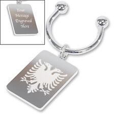 Albanian Eagle Screwball Keyring