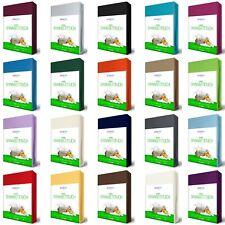 JERSEY Spannbettlaken Spannbetttuch 180x200-200x220 cm WASSERBETT BOXSPRINGBETT