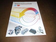 Information Audi VW Original Austauschteile Stand 1993