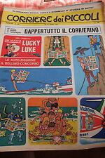 CORRIERE DEI PICCOLI  N°33 DEL 1967  con HUGO PRATT
