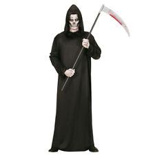 Grim Reaper Geisterkostüm Gruseliges Sensenmann Kostüm für Männer Gevatter Tod