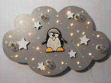 """Kinderzimmer Deckenleuchte Lampe """"Pit Pinguin"""" handgefertigt und individuell"""