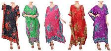 Miss Lavish Caftan Tunique Kimono Robe Longue Grande Taille 10 12 14 16 18 22 24 26 28