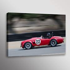 Ford Shelby FIA 427 Cobra Racecar Car Photo Automotive Wall Art Canvas Print