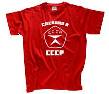 Made in CCCP-original rusos fiesta URSS Rusia discoteca nuevo t-shirt S-XXXL