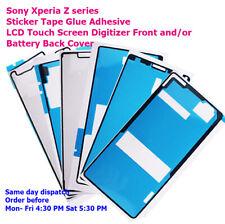 Sony Xperia Z Z1 Z2 Z3 Z4 Z3+ Z5 Compact Mini Front + Back Adhesive Sticker tape