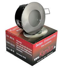 230V 7W = 52W A+ LED Spots LM GU10 Einbaulampe Aqua IP65 Bad Dusche Nassraum