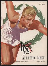 1954 Annual K of C Indoor Athletic Meet Program, NYC