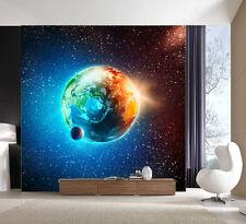 3D Vast Space Sun Earth Moom 38 Wall Paper Wall Print Decal Wall AJ Wall Paper