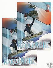 (167) 2000 RAGE KEVIN JONES SNOWBOARD CARDS #66