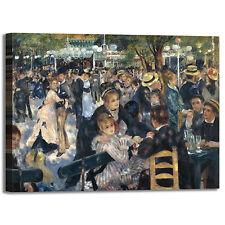 Renoir moulin de la Galette quadro stampa tela dipinto telaio arredo casa