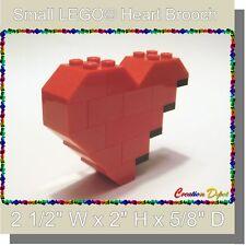 BrickCrafts LEGO® Fashion Jewelry Small Broken Heart Brooch Pin