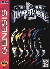 Mighty Morphin Power Rangers: The Movie (Sega Genesis, 1995) Cartridge Only