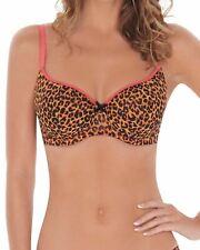 LEPEL Reggiseno a Balconcino Stampato con Lilly 65204 Leopard rosa