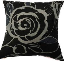 Ma13a Big Flower Velvet Style Cotton Blend Cushion Cover/Pillow Case*Custom Size