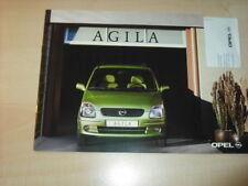 17252) Opel Agila Prospekt 2000