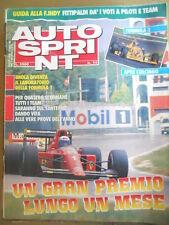 Autosprint 14 1990 Ferrari contro Mc Laren Senna Prost
