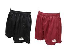ee3d6b7ace9f1d Pantaloncini da uomo donna bordeaux nero calcio Umbro shorts casual moda  sport