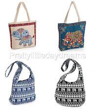 New Shoulder Sling Bag/Purse Elephant Hippie/Boho/Gypsy Beach/Festival School UK