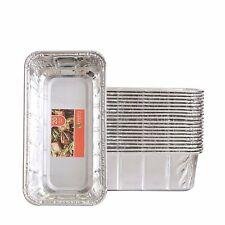 Aluminum Foil Loaf Pan Disposable Oblong Baking Bread Tins - 2 lb Capacity
