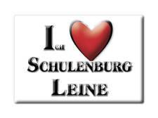 DEUTSCHLAND SOUVENIR - NIEDERSACHSEN MAGNET SCHULENBURG LEINE (REGION HANNOVER)