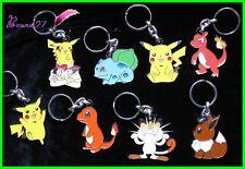 Porte clé - Key Ring - Keychain  POKEMON NINTENDO 1995 1996 1998 aux choix