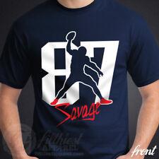 GRONK SPIKE T-Shirt Gronkowski 87 Savage nfl Football Fan Patriots Jersey Funny