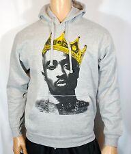 Tupac Shakur King Crown Mens Hoodie sweater Hip-Hop NWA 2pac