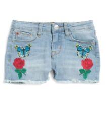 Hudson Kids Little Girl's Rose Freyed Hem Denim Shorts