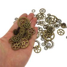 Zahnrad Mix Zahnräder Schmuck Anhänger Steampunk Gothic Basteln Kette Antik 7tg5 Necklaces & Pendants Beads & Jewelry Making