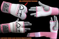 Austodex Ladies Fist Gel Bandages MMA boxing Inner Quick Hand Wraps Gloves women