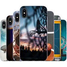 dessana Basketball TPU Silikon Schutz Hülle Case Handy Tasche Cover für Apple