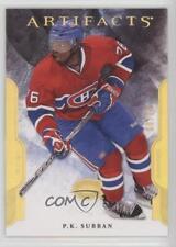 2011-12 Upper Deck Artifacts Gold Spectrum #76 PK Subban Montreal Canadiens P.K.