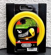 Oregon Yellow Roundline Mähfaden 2,0x15m Motorsense GP.0,31EUR/m