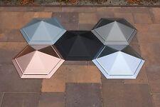 """Dachspitze """"Oxana"""", sechseckig, Zink blank, farbig oder Kupfer, preiswert, schön"""
