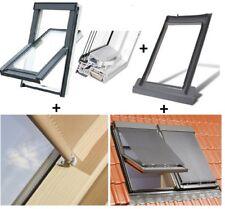 NEU! Kunststoff Dachfenster von Fakro 3-Fach-Vergl.TLP U4 U3 Eindeckrahmen Rollo