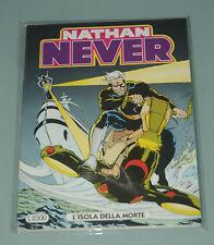 (PRL) NATHAN NEVER SERGIO BONELLI N° 4 L' ISOLA DELLA MORTE FUMETTO COMIC ITALY