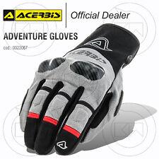 GLOVES ACERBIS ADVENTURE GLOVES MOTORCYCLE SCOOTER WINTER TOURING BLACK/GRIGIO