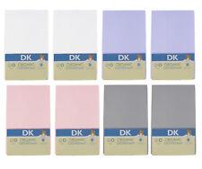 Dk Glovesheet Gots Algodón Orgánico Sábanas Bajeras Ajustables 83x50cm para Next