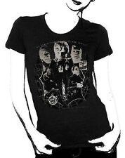 Universal Monsters Lon Chaney Collage Frankenstein Movie Juniors T Tee Shirt