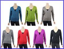 Basic  Strickjacke Damen verschiedene Farben Damenstrickjacke  L - 3XL  NEU