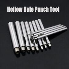 Emporte pièce poinçon trou à frapper outil cuir percer poinconner Ø 0.5- 10 mm