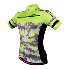 Men's Summer Bicycle Clothing Cycling Jerseys Biking Short Sleeve Shirts Top