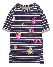 NWT Gymboree Girls Dress Cosmic Club Patch Dress 6, 8,10,12,14