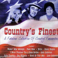 V/A - Country's Finest (UK 23 Track CD Album) (Sld)