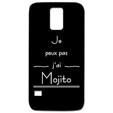 Coque téléphone 3D Samsung Galaxy S5 - Je peux pas j'ai Mojito - 9 couleurs