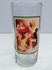Coca-Cola 1981 Christmas Drinking Glass - BRAND NEW